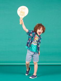 Denim Bermuda Shorts sky Junge Kind LOBONBER4 / 21S902W4BERP272
