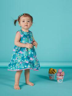 Bedrucktes Babykleid für Mädchen JIQUAROB1 / 20SG09R2ROB621