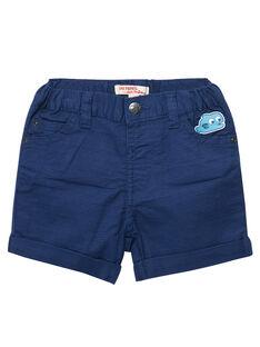 Blaue Bermudas JUCEABER3 / 20SG10N3BERC230